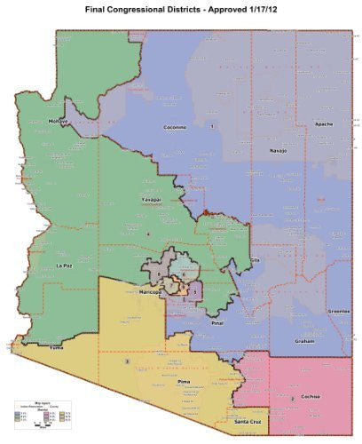Final Congressional Districts - Approved 1/17/12