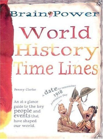 Brain Power: World History Time Lines - Wide World Maps & MORE! - Book - Brand: Barron's Educational Series - Wide World Maps & MORE!