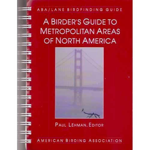 us topo - A Birder's Guide to Metropolitan Areas of North America - Wide World Maps & MORE! - Book - Brand: American Birding Association - Wide World Maps & MORE!