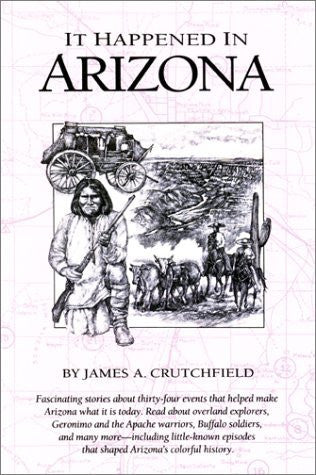 It Happened in Arizona (It Happened In Series) - Wide World Maps & MORE! - Book - Falcon Press - Wide World Maps & MORE!