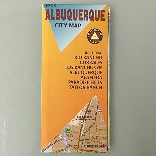 us topo - Albuquerque Benchmark Map (Benchmark Folded Maps: New Mexico) - Wide World Maps & MORE! - Book - Wide World Maps & MORE! - Wide World Maps & MORE!