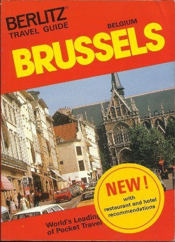 Brussels (Berlitz Pocket Guides) - Wide World Maps & MORE! - Book - Brand: Berlitz - Wide World Maps & MORE!