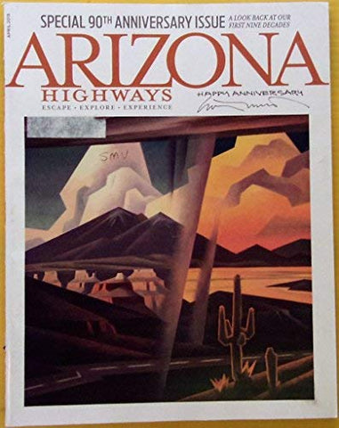 Arizona Highways Special 90th Anniversary Issue April 2015