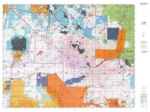 us topo - Arizona GMU 47M Hunt Area / Game Management Units (GMU) Map - Wide World Maps & MORE! - Book - Wide World Maps & MORE! - Wide World Maps & MORE!