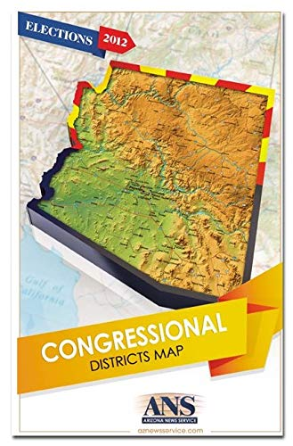 Arizona Congressional Districts Map - Wide World Maps & MORE! - Map - Wide World Maps & MORE! - Wide World Maps & MORE!