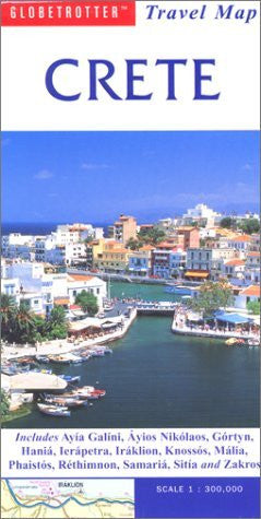 Crete Travel Map (Globetrotter Travel Map)