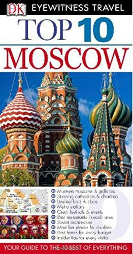 Top 10 Moscow (Eyewitness Top 10 Travel Guides)