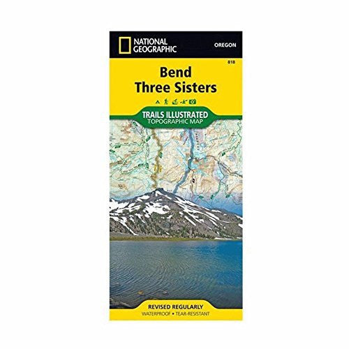 us topo - Bend/smith Rock #818 - Wide World Maps & MORE! - Sports - National Geographic - Wide World Maps & MORE!