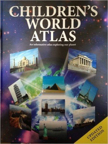 us topo - Children's World Atlas (Encyclopedia 128) - Wide World Maps & MORE! - Book - Wide World Maps & MORE! - Wide World Maps & MORE!