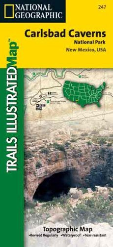 National Geographic, Trails Illustrated, Carlsbad Caverns National Park:  New Mexico, USA (Trails Illustrated - Topo Maps USA)
