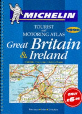 Tourist and Motoring Atlas: Great Britain & Ireland - Wide World Maps & MORE! - Book - Brand: Michelin Travel Pubns - Wide World Maps & MORE!