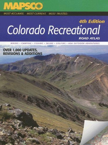 Colorado Recreational Road Atlas