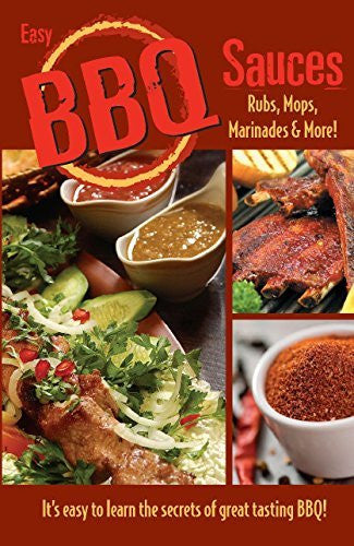 us topo - Easy BBQ Sauces, Rubs, Mops, Marinades and More! - Wide World Maps & MORE! - Book - Golden West Publishers (COR) - Wide World Maps & MORE!