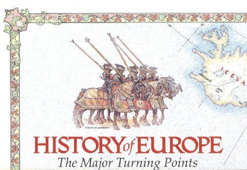 History of Europe, the major turning points 1:5,640,000 Reference Map, NATGEO, 1983 edition