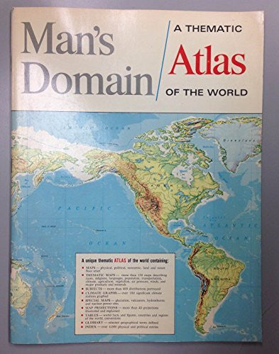 Man's Domain (A Thematic Atlas of the World)