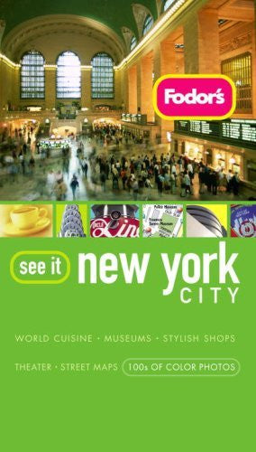 us topo - Fodor's See It New York City, 3rd Edition (Full-color Travel Guide) - Wide World Maps & MORE! - Book - Brand: Fodor's - Wide World Maps & MORE!