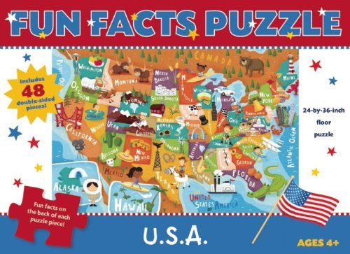 Fun Facts Puzzle: U.S.A. (Fun Facts Puzzles)