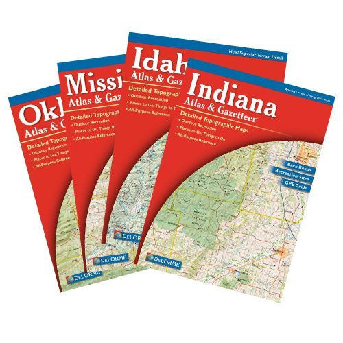 us topo - Colorado Atlas and Gazetter - Wide World Maps & MORE! - Sports - Delorme - Wide World Maps & MORE!