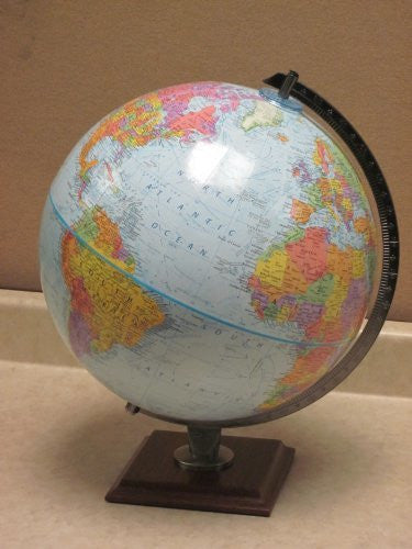 Wide World Blue Ocean Globe