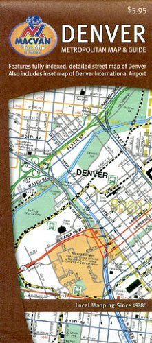 us topo - Denver, CO Metropolitan - Wide World Maps & MORE! - Office Product - MacVan Productions - Wide World Maps & MORE!