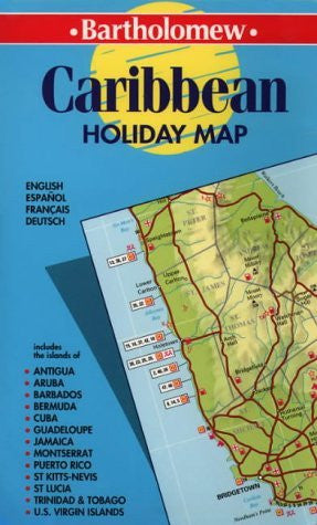 Caribbean (Collins Holiday Maps)
