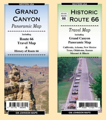 us topo - Route 66/Grand Canyon - Wide World Maps & MORE! - Book - Wide World Maps & MORE! - Wide World Maps & MORE!