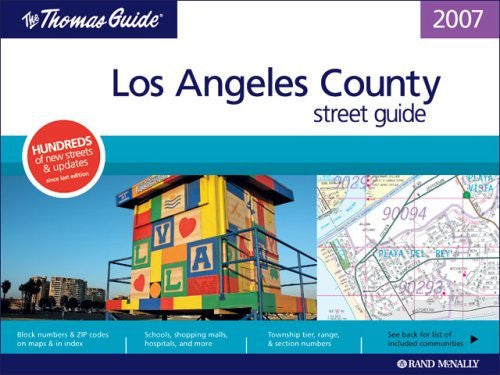 us topo - Thomas Guide 2007 Los Angeles County Street Guide and Directory (Thomas Guide Los Angeles County Street Guide & Directory) - Wide World Maps & MORE! - Book - Brand: Rand McNally Company - Wide World Maps & MORE!