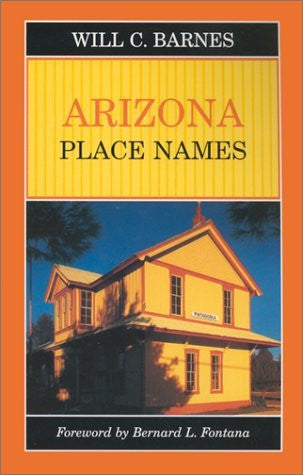 Arizona Place Names