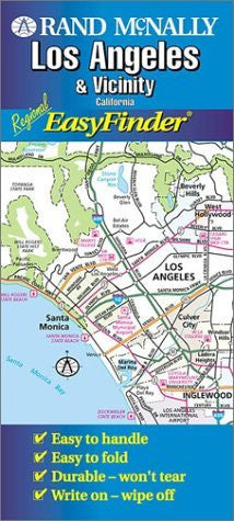 us topo - Los Angeles Easyfinder (Rand McNally Easyfinder) - Wide World Maps & MORE! - Book - Wide World Maps & MORE! - Wide World Maps & MORE!