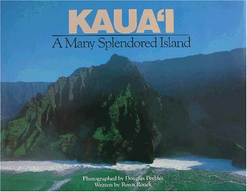 Kauai: A Many Splendored Island - Wide World Maps & MORE! - Book - Brand: Mutual Pub Co - Wide World Maps & MORE!