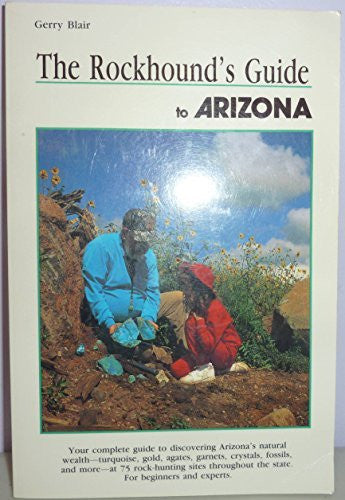 us topo - Rockhound's Guide to Arizona (Falcon Guidebook Series) - Wide World Maps & MORE! - Book - Brand: Falcon Pr Pub Co - Wide World Maps & MORE!