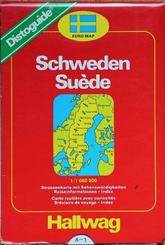 Sweden Map (Euro map) (German Edition)