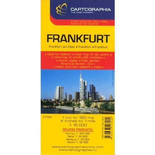 Frankfurt (Cartographia City Map)