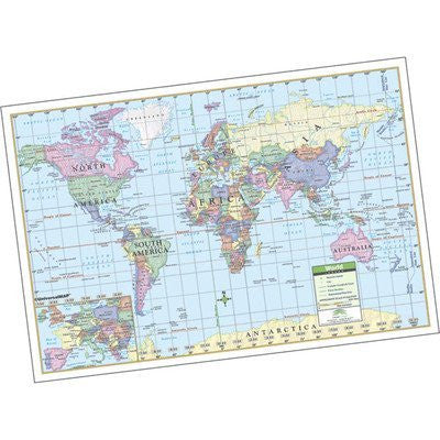 us topo - Rolled Map - Laminated Style: World - Wide World Maps & MORE! - Furniture - Universal Map - Wide World Maps & MORE!