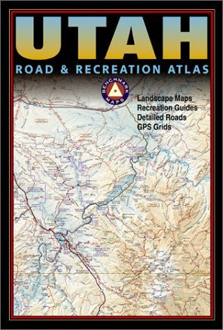 us topo - Benchmark Utah Road & Recreation Atlas - Wide World Maps & MORE! - Book - Brand: Benchmark Maps - Wide World Maps & MORE!