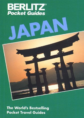 us topo - Japan Pocket Guide - Wide World Maps & MORE! - Book - Brand: Berlitz - Wide World Maps & MORE!