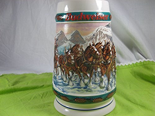 Budweiser 1993 Special Delivery Holiday Stein by Budweiser