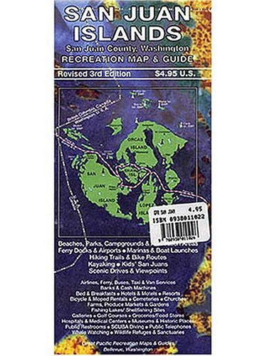 us topo - Greater Pacific San Juan Islands Recreation - Wide World Maps & MORE! - Book - Wide World Maps & MORE! - Wide World Maps & MORE!