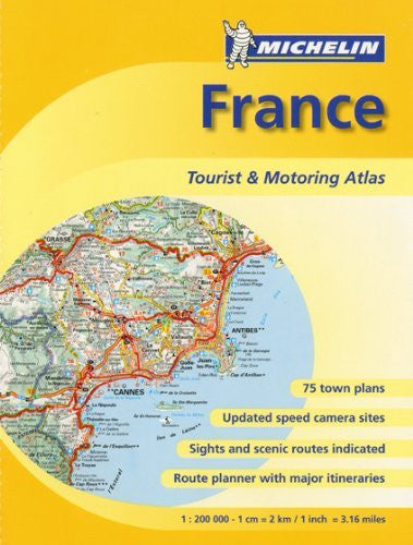 us topo - Atlas France Ref. 20197XB (Atlas (Michelin)) - Wide World Maps & MORE! - Book - Brand: Michelin Travel Publications - Wide World Maps & MORE!