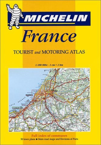 France (Tourist & Motoring Atlas) - Wide World Maps & MORE! - Book - Wide World Maps & MORE! - Wide World Maps & MORE!