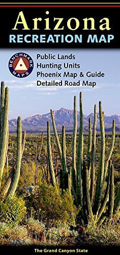 us topo - Arizona Recreation Map - Wide World Maps & MORE! - Book - Benchmark Maps - Wide World Maps & MORE!