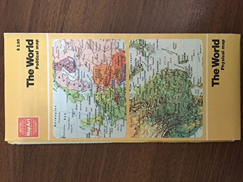 us topo - MapArt The World Political & Physical Map - Wide World Maps & MORE! - Book - Wide World Maps & MORE! - Wide World Maps & MORE!