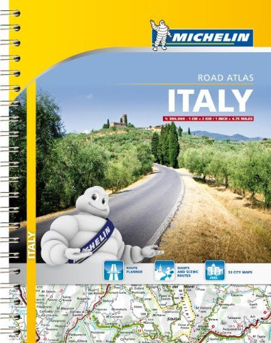 Michelin Italy Road Atlas (Atlas (Michelin))