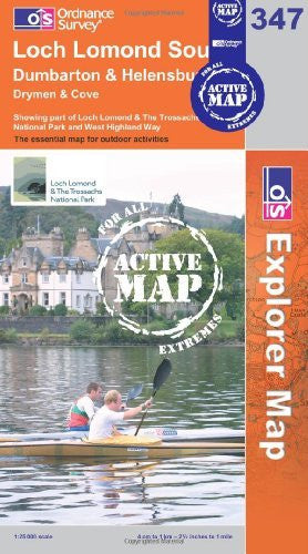 Loch Lomond South (OS Explorer Map Active) - Wide World Maps & MORE! - Book - Wide World Maps & MORE! - Wide World Maps & MORE!