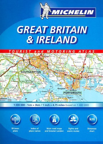 Michelin Great Britain & Ireland Tourist And Motoring Atlas (Michelin Tourist and Motoring Atlas)