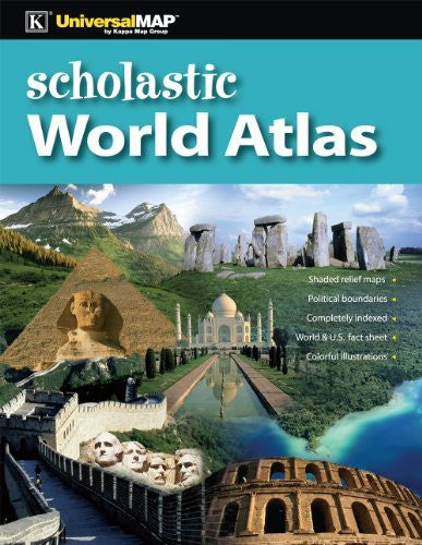 us topo - Scholastic World Atlas - Wide World Maps & MORE! - Book - KAPPA MAP GROUP / UNIVERSAL MAPS - Wide World Maps & MORE!