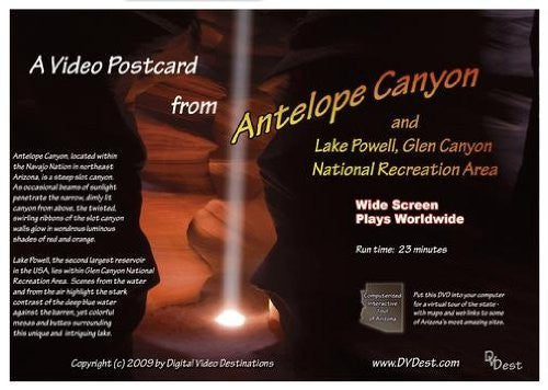 A Video Postcard from Antelope Canyon and Lake Powell, Glen Canyon National Recreation Area