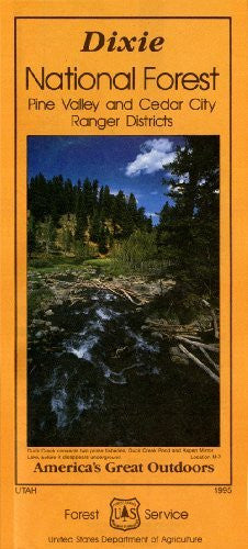 us topo - Dixie National Forest: Pine Valley and Cedar City Ranger Districts (America's Great Outdoors, 23.45.407.04/95C) - Wide World Maps & MORE! - Book - Wide World Maps & MORE! - Wide World Maps & MORE!