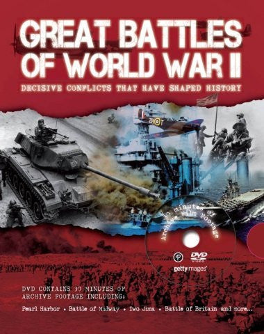 us topo - Great Battles of World War II (With DVD) (Great Battles W/DVD) - Wide World Maps & MORE! - Book - Wide World Maps & MORE! - Wide World Maps & MORE!