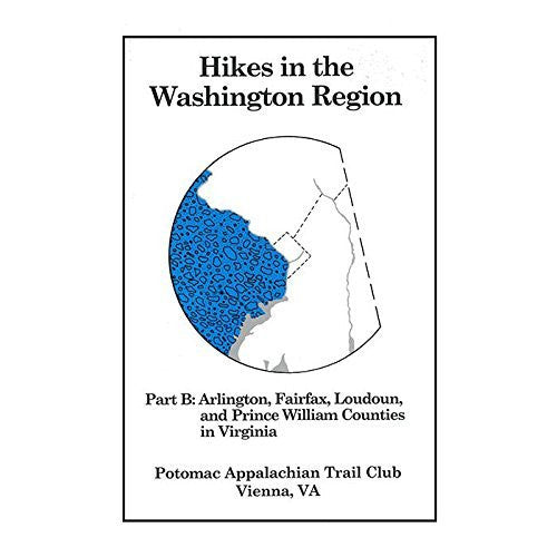 us topo - Hikes In the Washington Region: Part B - Wide World Maps & MORE! - Book - POTOMAC AT CLUB - Wide World Maps & MORE!